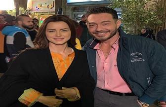 """"""" البرنس"""" يجمع أحمد زاهر ونور"""