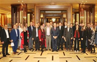 محافظ جنوب سيناء يستقبل سفراء وملحقي دفاع الدول المشاركة في القوة متعددة الجنسيات بشرم الشيخ| صور