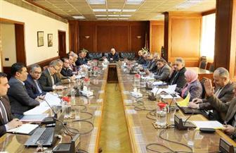 وزيرالري يتابع تنفيذ مشروعات الخطة الاستثمارية مع القيادات التنفيذية | صور