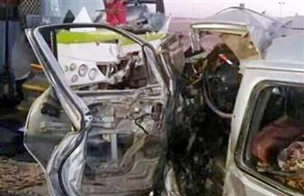 مصرع 3 وإصابة 16 في حادث تصادم أتوبيس بسيارة ملاكي بأسوان