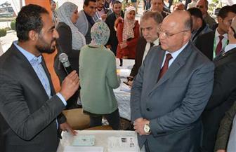 محافظ القاهرة يفتتح ملتقى التوظيف الأول بمشاركة 100 شركة | صور