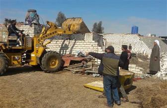 محافظة بورسعيد تزيل 21 حالة تعد على أملاك الدولة في بدء تنفيذ الموجة الـ 15 | صور