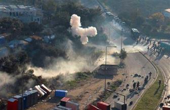 الشرطة اليونانية تطلق الغاز المسيل للدموع على احتجاج مهاجرين ولاجئين