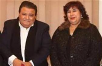 وزيرة الثقافة تطمئن على صحة خالد جلال