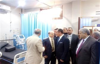 سكرتير عام الغربية يفتتح قسم العلاج الطبيعي بمستشفى التكامل بالهياتم| صور