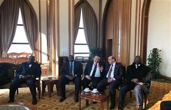 وزارة الخارجية تستضيف السفراء الأفارقة الجدد المعتمدين لدى مصر| صور