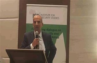 السفير أسامة عبدالخالق يلقي محاضرة حول إنجازات الرئاسة المصرية للاتحاد الإفريقي