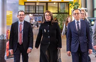 غادة والي تتسلم مهام منصبها الدولي بالأمم المتحدة في فيينا | صور