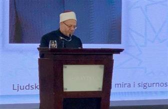 المفتي في كلمته أمام رئيسة كرواتيا: لا بد من إعلاء قيمة التعايش السلمي | صور