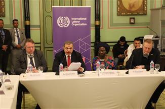 وزير القوى العاملة يفتتح الاجتماع السنوي لمديري مكاتب منظمة العمل الدولية في إفريقيا | صور