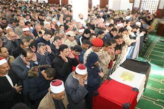"""أرملة الشهيد """"منتصر"""": نزور قبره في العيد.. والرئيس السيسي دائما يشعرنا بقيمة وقدر التضحية"""