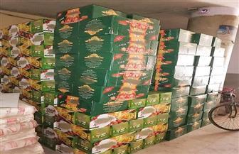 ضبط 107 آلاف عبوة عصير مجهولة المصدر بسوهاج