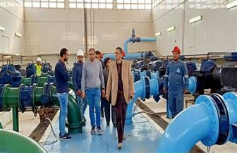 محطة مياه شبين الكوم تحصل على الشهادة الدولية TSM للمرة الثالثة  صور