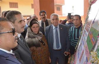 محافظ الغربية يفتتح مدرسة الشهيد محمد عبد الحميد بلال بقرية صرد بقطور | صور