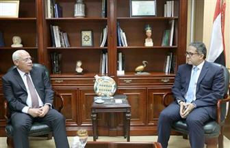 خالد العناني يبحث مع محافظ بورسعيد خطة تنشيط السياحة