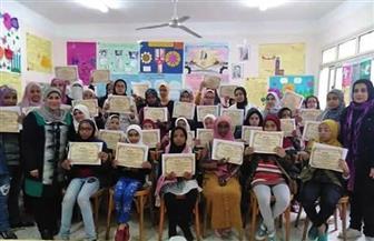 3 فتيات من معاهد البحر الأحمر الأزهرية يحصدن  مراكز متقدمة في مسابقة الملتقى الفكري  صور