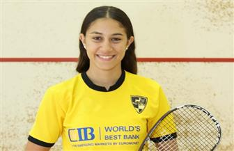 جنى شيحة تقتنص لقب بطولة الإسكواش بالهند