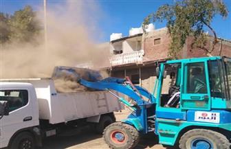 رفع 25 طن مخلفات في حملة للنظافة العامة بسفاجا | صور