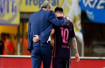 مدرب برشلونة يعلق على أزمة ميسي وأبيدال