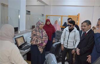 محافظ الغربية يتفقد المركز التكنولوجي والأعمال الإنشائية بمجلس مدينة السنطة | صور