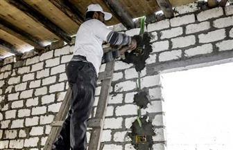 إعادة إعمار 50 منزلا في الغربية بالتعاون مع صندوق تحيا مصر | صور