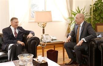 وزير الإسكان يلتقي السفير الألماني بالقاهرة لبحث التعاون في المجالات المختلفة | صور