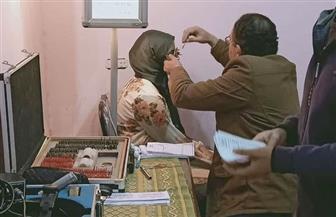 الكشف الطبي على 450 مواطنا في قافلتين لأمراض العيون بالغربية | صور