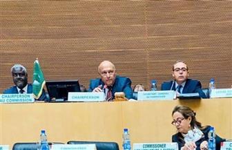 جدول أعمال المجلس التنفيذي لوزراء الخارجية الأفارقة في إثيوبيا برئاسة سامح شكري | صور