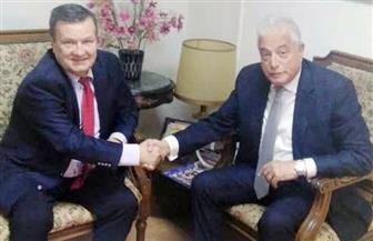 محافظ جنوب سيناء يستقبل سفير أوكرانيا بالقاهرة لتنشيط السياحة | صور