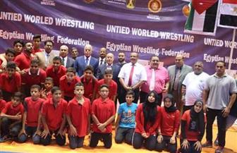 مصر تتصدر منافسات الناشئين بالبطولة الإفريقية للمصارعة