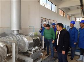 لأول مرة.. محطة مياه الحسينية المرشحة تحصل على شهادة الإدارة الفنية المستدامة  T.S.M| صور