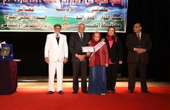 محافظ الجيزة يشهد احتفالية تكريم حفظة القرآن الكريم | صور