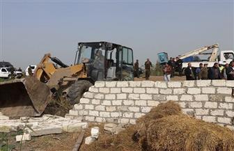 محافظ كفرالشيخ يتابع حصاد اليوم الخامس من الموجة ١٥وتنفيذ 42 قرار إزالة بمركز ومدينة الحامول | صور