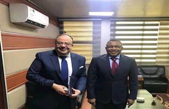 السفير المصري بالخرطوم يلتقي وزير الدولة السوداني للشئون الخارجية