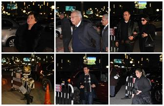 وزراء وفنانون وإعلاميون في عزاءنادية لطفي | صور