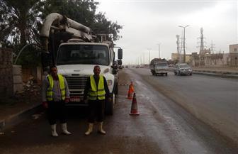 استعدادا لأمطار اليوم..  نشر معدات شفط المياه بمحاور القاهرة والجيزة | صور