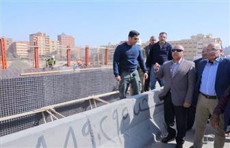 وزير النقل يتابع معدلات تنفيذ الطريق الداعم في المسافة من محور سعد الدين الشاذلي حتى المرج|صور