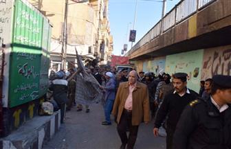ضبط العديد من المخالفات وإزالة تعديات ورفع إشغالات في منطقة أبو الجود و 3 شوارع بالأقصر | صور
