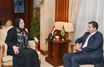 وزيرة التجارة تتفق مع نظيرها الأردني على إحداث نقلة نوعية فى مستوى العلاقات الاقتصادية المشتركة