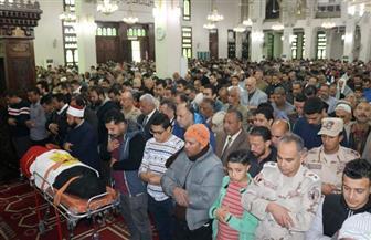 تشييع جثمان النقيب فاضل سالم باشا ابن السويس شهيد الواجب الوطني