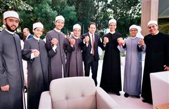 أمين عام اللجنة الدولية للأخوة الإنسانية لشباب الأزهر: افتخروا بأنكم تتعلمون في عهد الإمام المجدد | صور