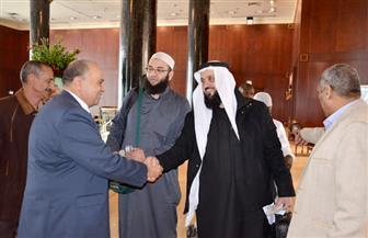 إمام الحرم النبوي وشيخ عموم المقارئ المصرية و١٠ محكمين آخرين في المسابقة العالمية للقرآن الكريم