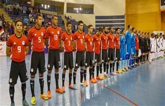 مصر بالأبيض أمام المغرب في نهائي أمم إفريقيا لكرة الصالات