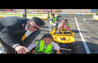 افتتاح مدينة مرورية للأطفال بإدارة مرور البحر الأحمر | فيديو