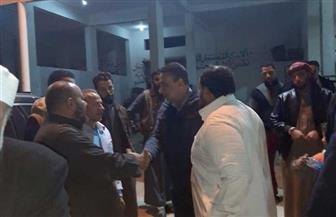 لجنة لبحث مشاكل سوق الجملة لبيع الخضر والفاكهة بمدينة الحمام