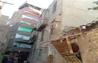 حي السيدة زينب يبدأ حملة لإزالة العقارات ذات الخطورة الداهمة