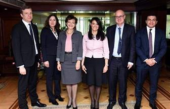 المشاط: 5 محاور للتعاون الاقتصادي مع بنك الاستثمار الأوروبي   صور