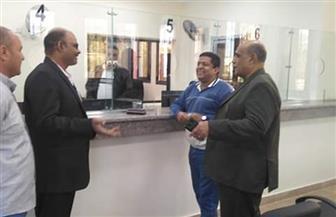 وكيل الوزارة ورئيس مدينة القصير يتفقدان مبنى إدارة التموين الجديد | صور
