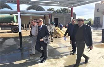 محافظ كفر الشيخ يتفقد موقف القاهرة الجديد بالعاصمة تمهيدا لافتتاحه خلال أيام | صور