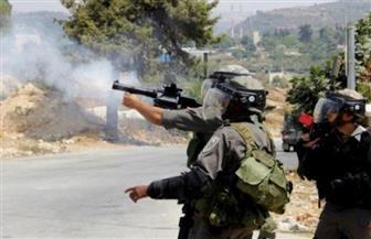 """إصابة فلسطينيين برصاص الاحتلال الإسرائيلي واختناق العشرات في مواجهات غرب """"قفين"""""""